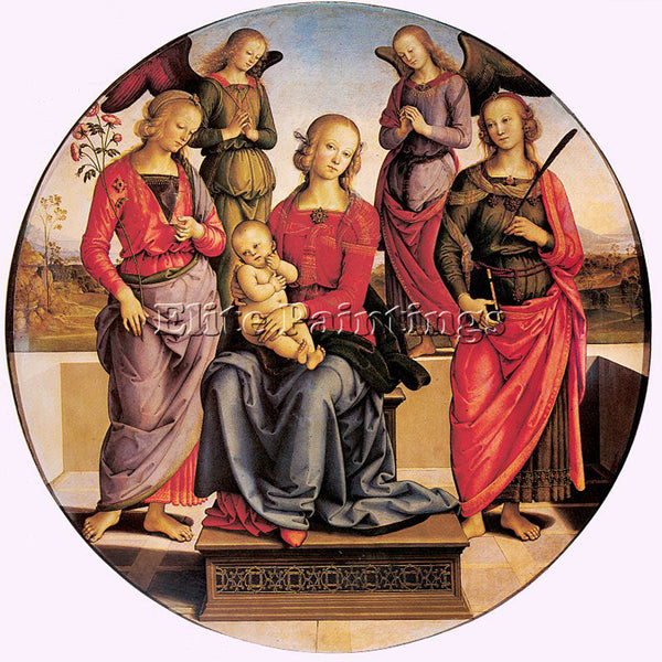 PIETRO VANNUCCI PERUGINO4 ARTIST PAINTING REPRODUCTION HANDMADE OIL CANVAS REPRO