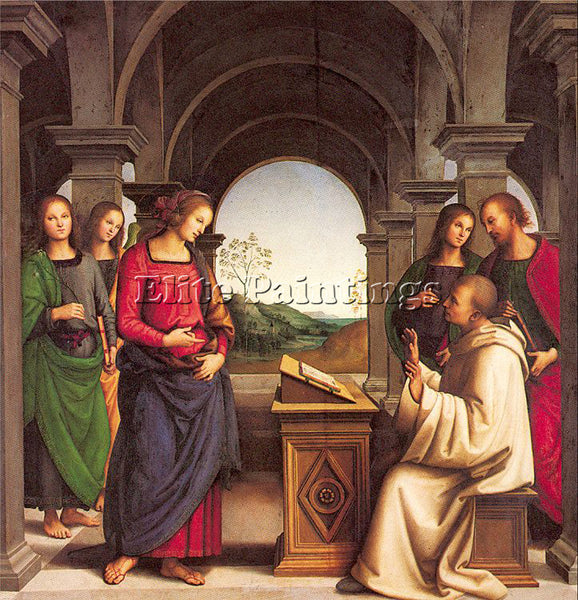 PIETRO VANNUCCI PERUGINO5 ARTIST PAINTING REPRODUCTION HANDMADE OIL CANVAS REPRO