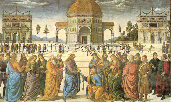 PIETRO VANNUCCI PERUGINO6 ARTIST PAINTING REPRODUCTION HANDMADE OIL CANVAS REPRO
