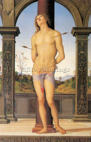 PIETRO VANNUCCI PERUGINO8 ARTIST PAINTING REPRODUCTION HANDMADE OIL CANVAS REPRO