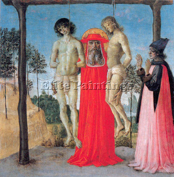 PIETRO VANNUCCI PERUGINO9 ARTIST PAINTING REPRODUCTION HANDMADE OIL CANVAS REPRO