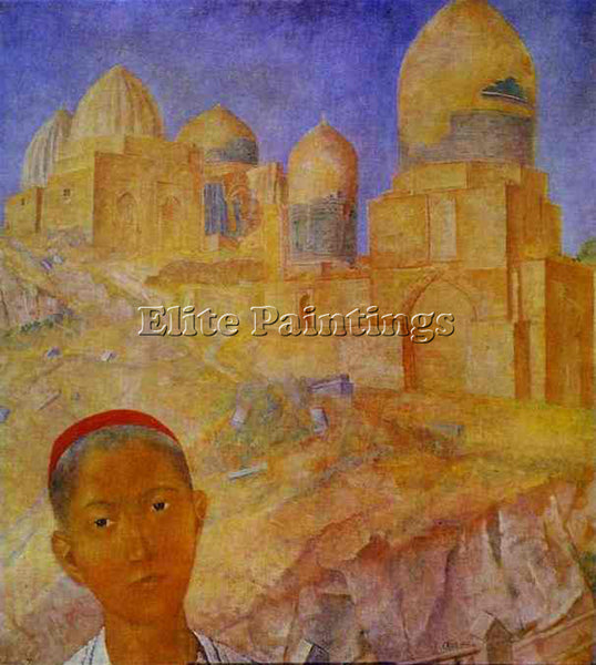 PETROV-VODKIN KUZMA PZ23 ARTIST PAINTING REPRODUCTION HANDMADE CANVAS REPRO WALL
