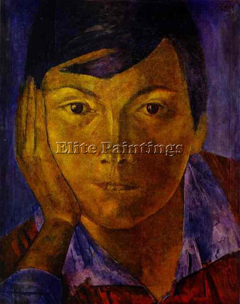 PETROV-VODKIN KUZMA PZ25 ARTIST PAINTING REPRODUCTION HANDMADE CANVAS REPRO WALL