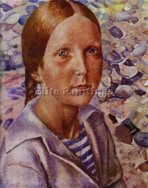 PETROV-VODKIN KUZMA PZ31 ARTIST PAINTING REPRODUCTION HANDMADE CANVAS REPRO WALL