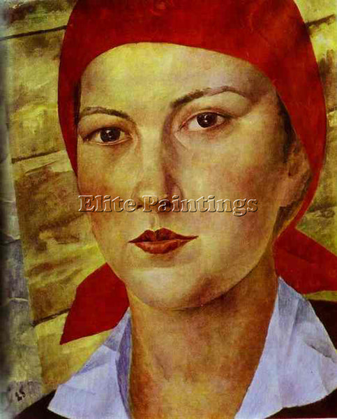 PETROV-VODKIN KUZMA PZ33 ARTIST PAINTING REPRODUCTION HANDMADE CANVAS REPRO WALL