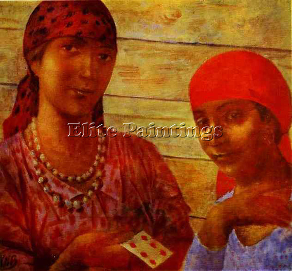 PETROV-VODKIN KUZMA PZ34 ARTIST PAINTING REPRODUCTION HANDMADE CANVAS REPRO WALL