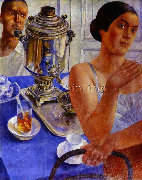PETROV-VODKIN KUZMA PZ36 ARTIST PAINTING REPRODUCTION HANDMADE CANVAS REPRO WALL