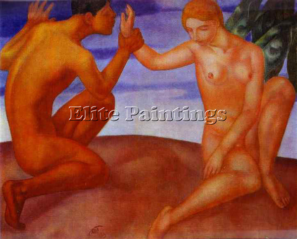 PETROV-VODKIN KUZMA PZ5 ARTIST PAINTING REPRODUCTION HANDMADE CANVAS REPRO WALL