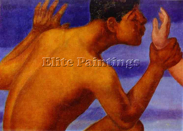 PETROV-VODKIN KUZMA PZ6 ARTIST PAINTING REPRODUCTION HANDMADE CANVAS REPRO WALL
