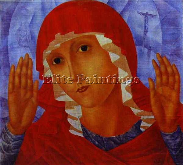 PETROV-VODKIN KUZMA PZ8 ARTIST PAINTING REPRODUCTION HANDMADE CANVAS REPRO WALL