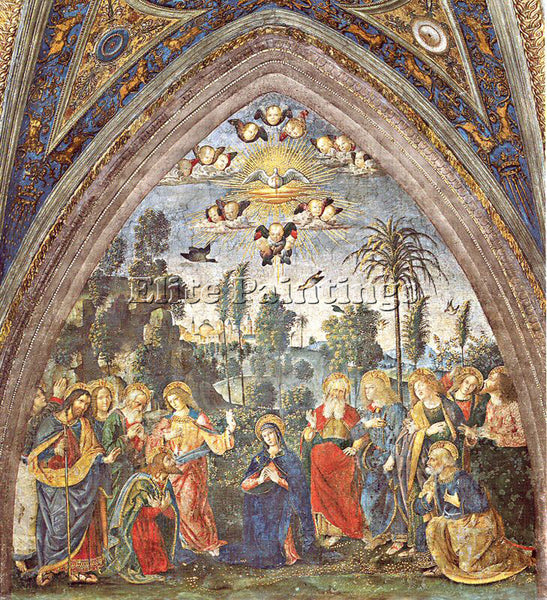 PINTURICCHIO BERNARDINO DI BETTO PINTU3 ARTIST PAINTING REPRODUCTION HANDMADE