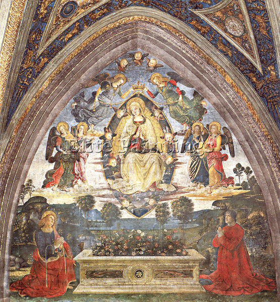 PINTURICCHIO BERNARDINO DI BETTO PINTU4 ARTIST PAINTING REPRODUCTION HANDMADE