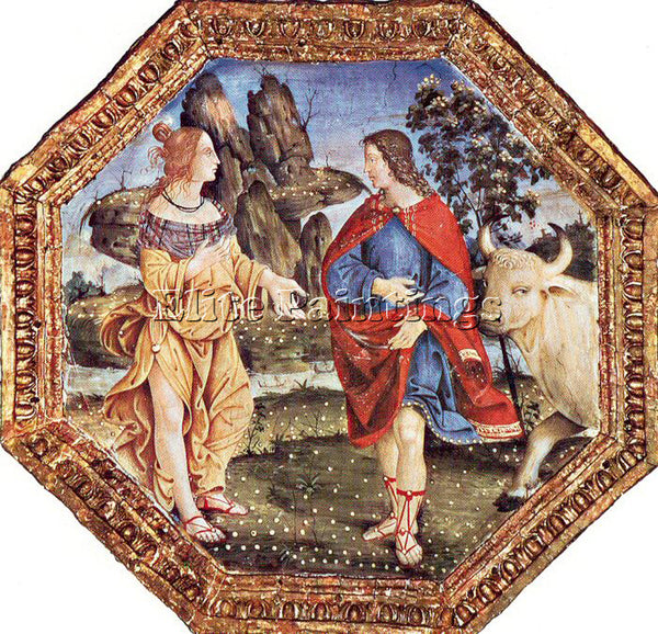 PINTURICCHIO BERNARDINO DI BETTO PINTU5 ARTIST PAINTING REPRODUCTION HANDMADE