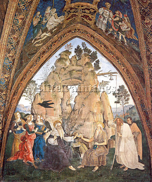 PINTURICCHIO BERNARDINO DI BETTO PINTU6 ARTIST PAINTING REPRODUCTION HANDMADE