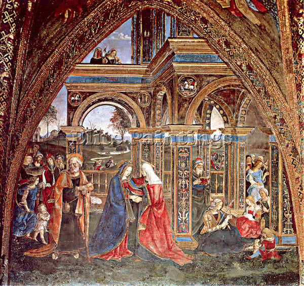 PINTURICCHIO BERNARDINO DI BETTO PINTU7 ARTIST PAINTING REPRODUCTION HANDMADE