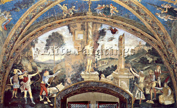 PINTURICCHIO BERNARDINO DI BETTO PINTU8 ARTIST PAINTING REPRODUCTION HANDMADE
