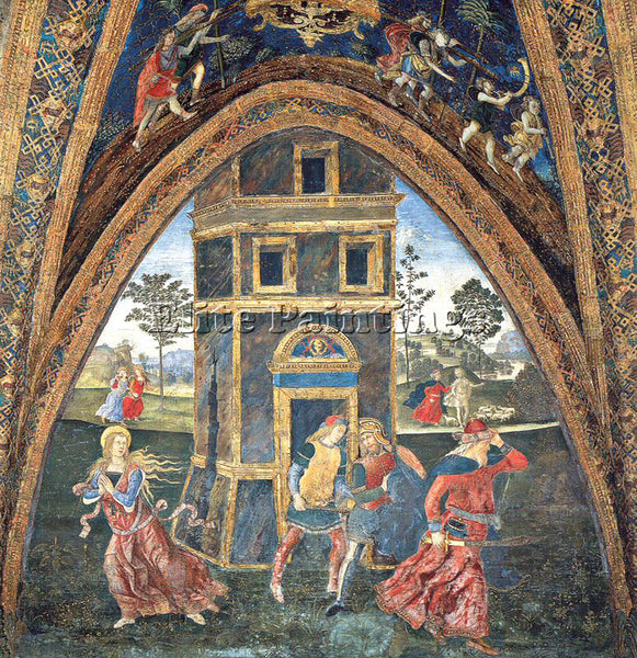 PINTURICCHIO BERNARDINO DI BETTO PINTU10 ARTIST PAINTING REPRODUCTION HANDMADE