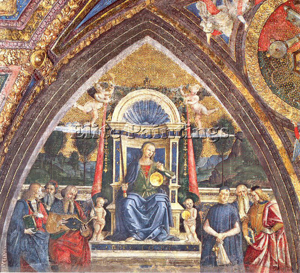 PINTURICCHIO BERNARDINO DI BETTO PINTU11 ARTIST PAINTING REPRODUCTION HANDMADE
