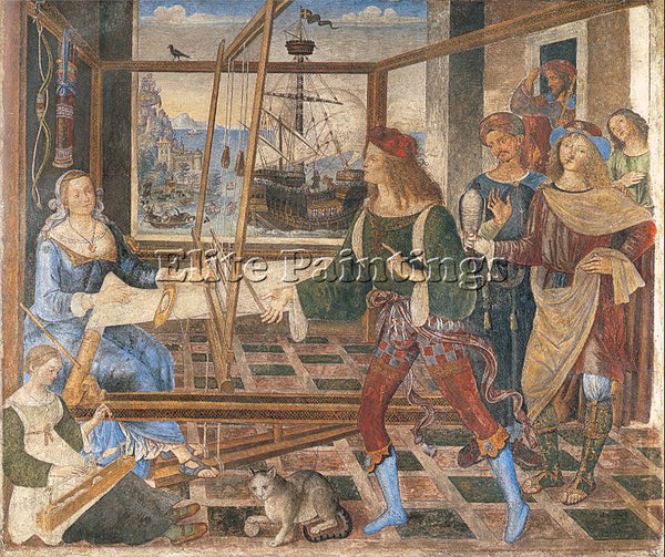 PINTURICCHIO BERNARDINO DI BETTO PINTU12 ARTIST PAINTING REPRODUCTION HANDMADE