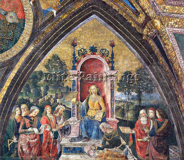 PINTURICCHIO BERNARDINO DI BETTO PINTU14 ARTIST PAINTING REPRODUCTION HANDMADE