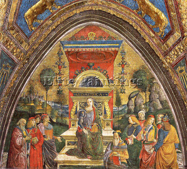 PINTURICCHIO BERNARDINO DI BETTO PINTU15 ARTIST PAINTING REPRODUCTION HANDMADE