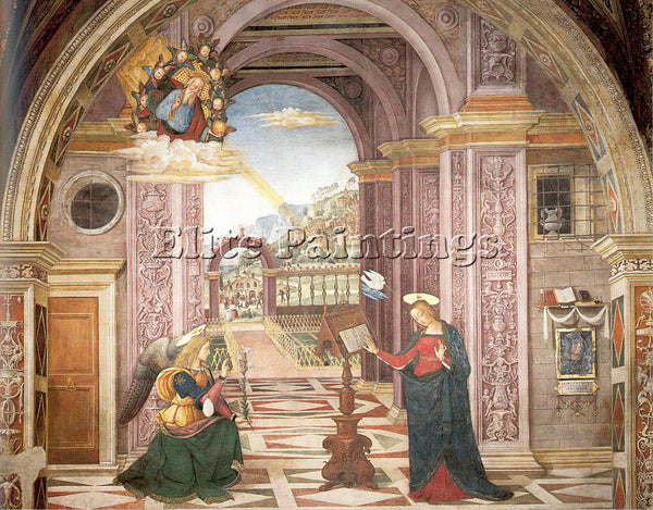PINTURICCHIO BERNARDINO DI BETTO PINTU18 ARTIST PAINTING REPRODUCTION HANDMADE