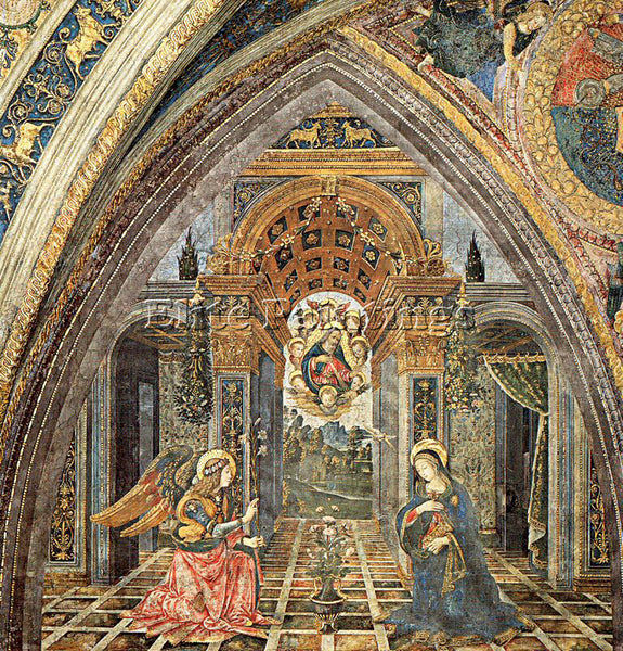 PINTURICCHIO BERNARDINO DI BETTO PINTU21 ARTIST PAINTING REPRODUCTION HANDMADE