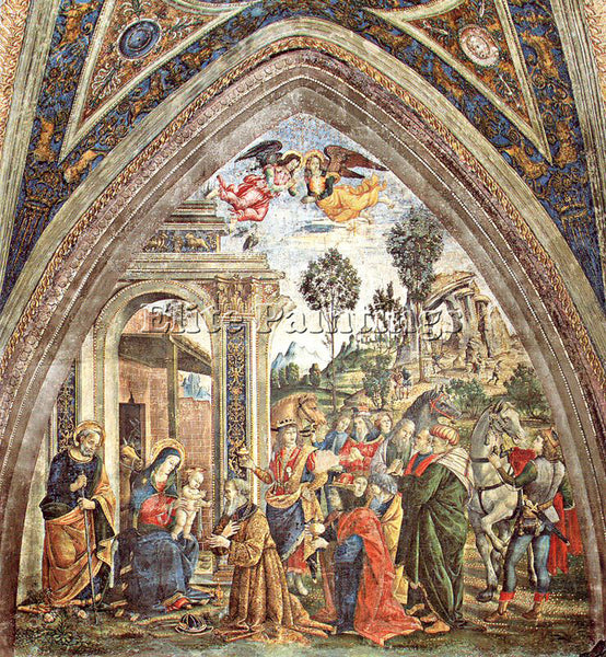 PINTURICCHIO BERNARDINO DI BETTO PINTU23 ARTIST PAINTING REPRODUCTION HANDMADE