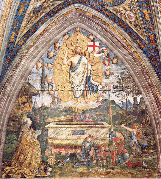 PINTURICCHIO BERNARDINO DI BETTO PINTU24 ARTIST PAINTING REPRODUCTION HANDMADE