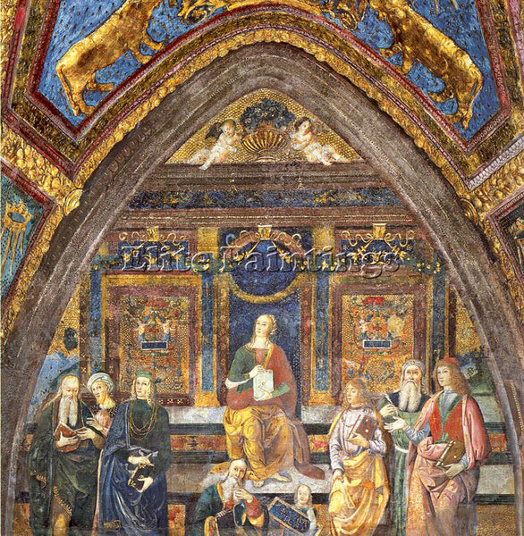 PINTURICCHIO BERNARDINO DI BETTO PINTU25 ARTIST PAINTING REPRODUCTION HANDMADE