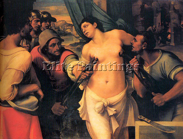 SEBASTIANO DEL PIOMBO PIOM14 ARTIST PAINTING REPRODUCTION HANDMADE CANVAS REPRO
