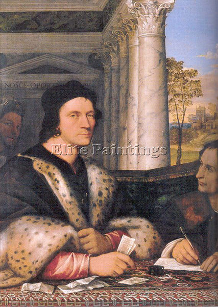SEBASTIANO DEL PIOMBO PIOM1 ARTIST PAINTING REPRODUCTION HANDMADE OIL CANVAS ART