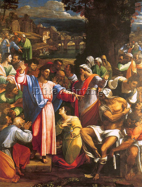 SEBASTIANO DEL PIOMBO PIOM2 ARTIST PAINTING REPRODUCTION HANDMADE OIL CANVAS ART