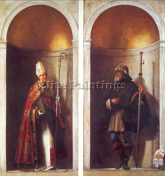 SEBASTIANO DEL PIOMBO PIOM6 ARTIST PAINTING REPRODUCTION HANDMADE OIL CANVAS ART