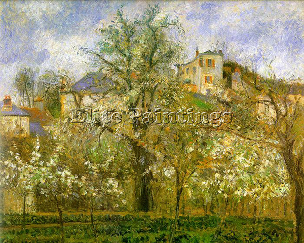 CAMILLE PISSARRO PISS14 ARTIST PAINTING REPRODUCTION HANDMADE CANVAS REPRO WALL