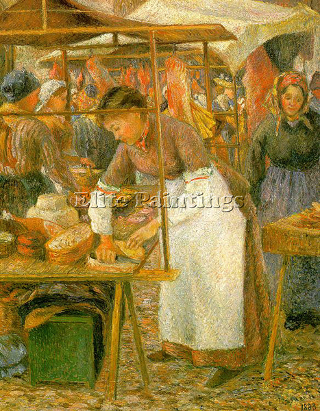 CAMILLE PISSARRO PISS15 ARTIST PAINTING REPRODUCTION HANDMADE CANVAS REPRO WALL