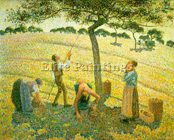 CAMILLE PISSARRO PISS16 ARTIST PAINTING REPRODUCTION HANDMADE CANVAS REPRO WALL