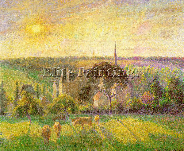 CAMILLE PISSARRO PISS21 ARTIST PAINTING REPRODUCTION HANDMADE CANVAS REPRO WALL