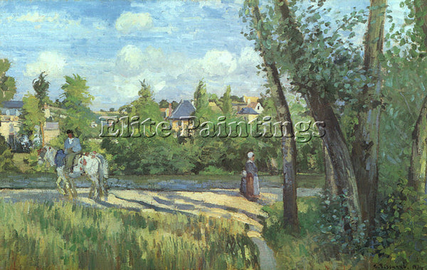 CAMILLE PISSARRO PISS5 ARTIST PAINTING REPRODUCTION HANDMADE CANVAS REPRO WALL