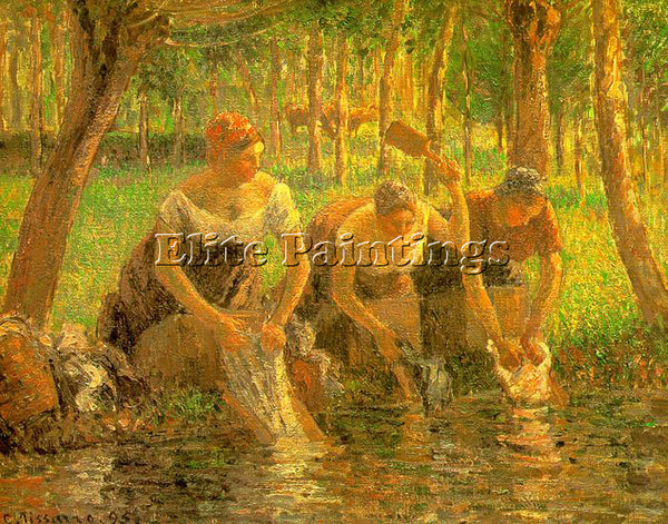 CAMILLE PISSARRO PISS ARTIST PAINTING REPRODUCTION HANDMADE OIL CANVAS REPRO ART