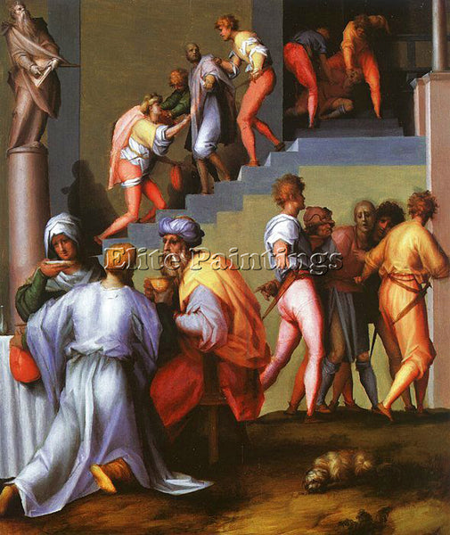 JACOPO DA PONTORMO JDP11 ARTIST PAINTING REPRODUCTION HANDMADE CANVAS REPRO WALL