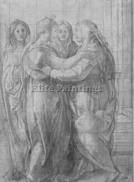 JACOPO DA PONTORMO JDP12 ARTIST PAINTING REPRODUCTION HANDMADE CANVAS REPRO WALL