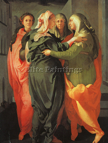 JACOPO DA PONTORMO JDP3 ARTIST PAINTING REPRODUCTION HANDMADE CANVAS REPRO WALL