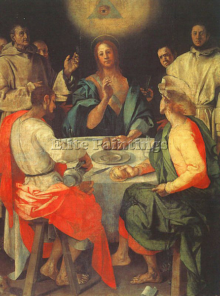 JACOPO DA PONTORMO JDP4 ARTIST PAINTING REPRODUCTION HANDMADE CANVAS REPRO WALL