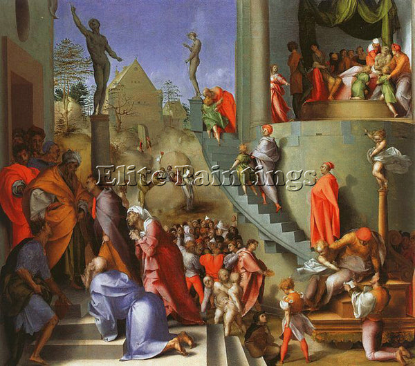 JACOPO DA PONTORMO JDP7 ARTIST PAINTING REPRODUCTION HANDMADE CANVAS REPRO WALL