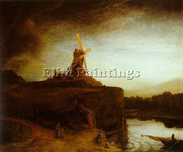REMBRANDT  ARTIST PAINTING REPRODUCTION HANDMADE OIL CANVAS REPRO WALL ART DECO