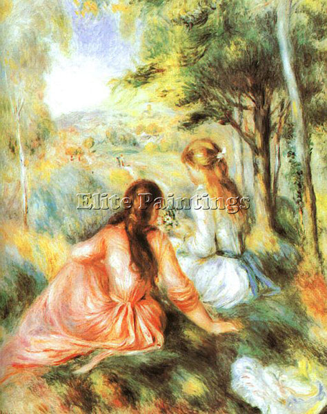 PIERRE AUGUSTE RENOIR REN64 ARTIST PAINTING REPRODUCTION HANDMADE OIL CANVAS ART