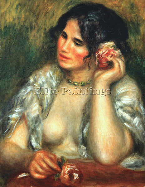 PIERRE AUGUSTE RENOIR REN6 ARTIST PAINTING REPRODUCTION HANDMADE OIL CANVAS DECO