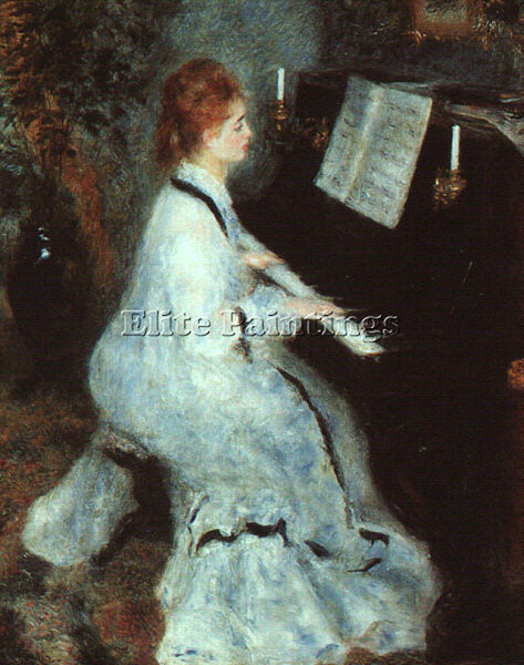 PIERRE AUGUSTE RENOIR REN8 ARTIST PAINTING REPRODUCTION HANDMADE OIL CANVAS DECO