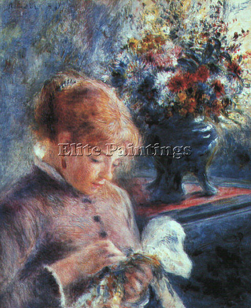 PIERRE AUGUSTE RENOIR REN9 ARTIST PAINTING REPRODUCTION HANDMADE OIL CANVAS DECO